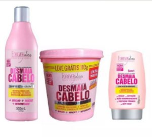 Kit Desmaia Cabelo Forever Liss + Brinde Extra 110g