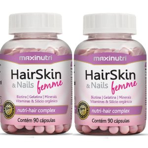 Maxinutri HairSkin & Nails Femme 180 Cápsulas Da Beleza