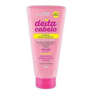 Shampoo Mega Hidratante Deita Cabelo 300ml - Muriel