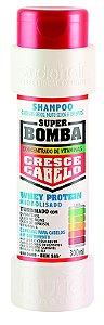 Shampoo Super Bomba Cresce cabelo Seco MS e Crespos 300ml - Muriel