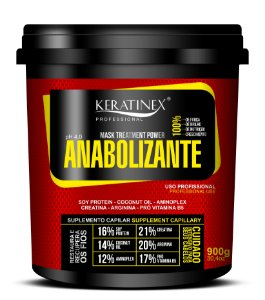 Máscara Anabolizante 900g - Keratinex