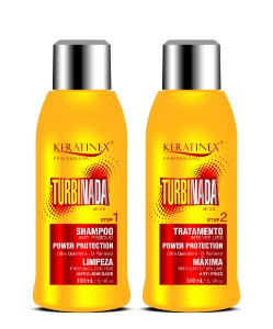 Kit Escova Progressiva Turbinada 2x300ml - Keratinex