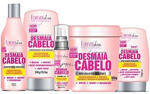 Kit Desmaia Cabelo 5 Itens Com Máscara 950g - Forever Liss