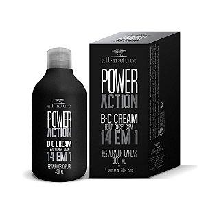 SOS Capilar Power Action Bc Cream 14 em 1 300ml All Nature