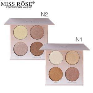 Iluminador Quarteto Glow Kit - Miss Rose