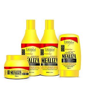 Forever Liss Mealiza Kit Anti Frizz E Volume c/ 4 produtos