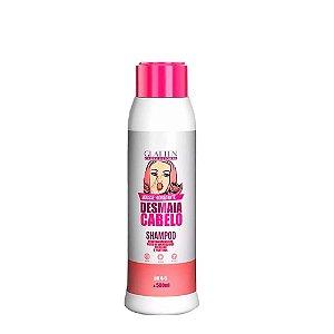 Shampoo Mousse Hidratante Desmaia cabelo 500ml Glatten