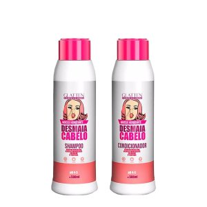 Glatten Desmaia Cabelo Kit Condicionador e Shampoo
