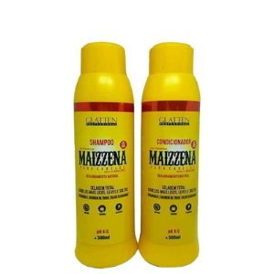Glatten Maizzena Kit Alisante Shampoo e Condicionador