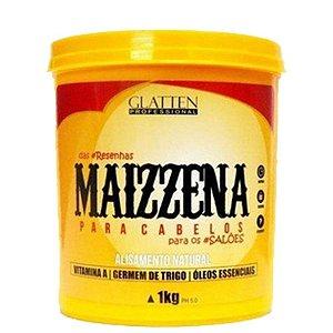 Máscara Maizzena Alisamento Natural de 1kg Glatten