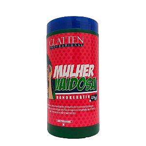 Glatten Mulher Vaidosa Mousse Hidratante Alisante 1kg