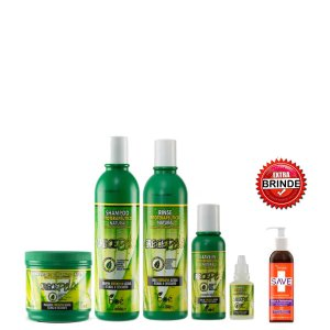 Kit CrecePelo completo 5 itens mais um produto extra