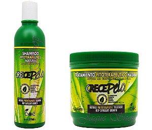 Boé CrecePelo Kit Shampoo + Mascara 454g