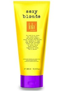 Sexy Blonde Condicionador Matizador 250ml - Lola Cosmetics