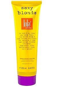 Sexy Blonde Shampoo 250ml Cabelos Loiros - Lola Cosmetics