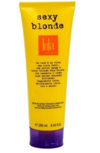 Sexy Blonde Creme de Pentear Cabelos Loiros 250ml - Lola Cosmetics