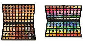 Kit de Paletas de sombra 120 cores Manly Total 240 cores