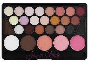 Naras Makeup Pad com 28 cores Modelo 01 Paleta estilo tablet