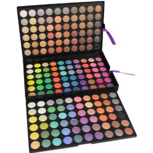 Manly Paleta profissional 180 cores de sombras nudes e coloridas