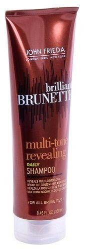 Shampoo Diário Brilliant Brunette Multi Tone 250 ml John Frieda