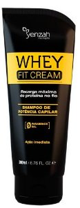 Shampoo Potência Capilar Whey Fit Cream  200ml - Yenzah