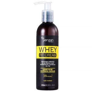 Yenzah Power Whey Fit Cream Potência Capilar Leave-in 240ml