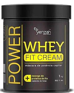 Máscara de Potência Capilar Whey Fit Cream 1000g - Yenzah