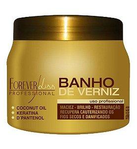 Banho de Verniz Brilho Hidratante 250gr Forever Liss