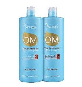 Duo Kit Shampoo e Condicionador OM Óleo de Marrocos Óleo de Argan Salon  Yenzah