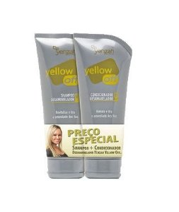 Kit Shampoo e Condicionador Yellow Off Desamarelador - Yenzah