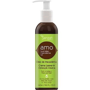Yenzah Amo Australian Macadamia Oil Creme Leave-in 240ml