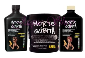 Lola Cosmetics Morte Subita Shampoo 250ml Condicionador 250g e Mascara Hidratante 450g