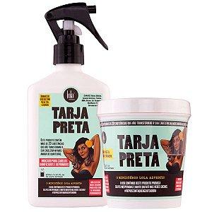 Lola Combo Tarja Preta - Máscara Restauradora 230g e Queratina Vegetal Liquida 250ml