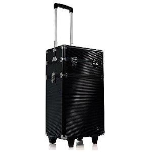 Maleta Profissional com Rodinhas 2 Andares Ruby's FS-1204C - Black