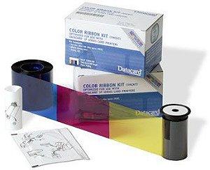 Ribbon Datacard Color YMCKT de 500 Impressões - 534000-003 para SP35, SP55, SD260 e SD360