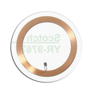 Clear Disc 30mm Adesivado De 125khz (cento)