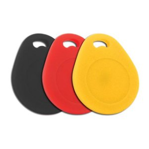 Chaveiro Acura AcuProx Keyfob Black, Red, Yellow