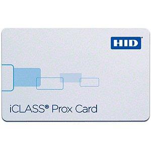 Cartão de Proximidade HID ICLASS 2K BIT + PROX 2020 ISO (Cento)