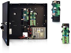 Controle de acesso para portas por Biometria ou Cartão RFID