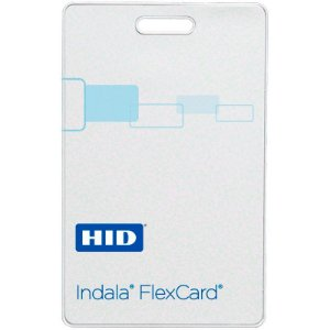 Cartão de Proximidade Indala FlexCard - Clamshell (cinquenta unidades)