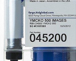 Ribbon Color Fargo DTC4500e - 045200 (500 Impressões)