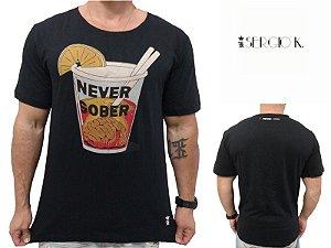 Camiseta Sergio K Never Sober Preto - Original