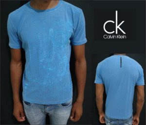 Camiseta Calvin Klein Azul Original