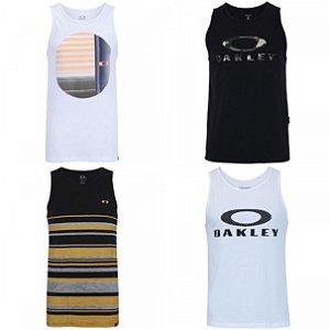 Camisetas Regatas Oakley no Atacado - Lotes de 03 a 50 peças