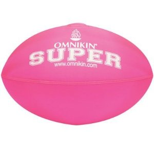 Bola SUPER rugby / futebol americano ROSA