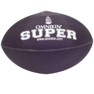 Bola SUPER rubgy / futebol americano PRETA