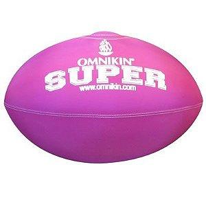 Bola SUPER rugby / futebol americano ROXA