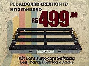 Pedalboard Standard Steel - Kit Completo
