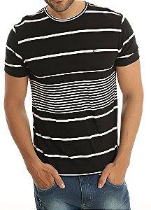 T-Shirt Casual Listras
