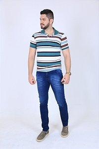 Camisa Polo Listras